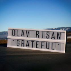 Olav Risan Grateful